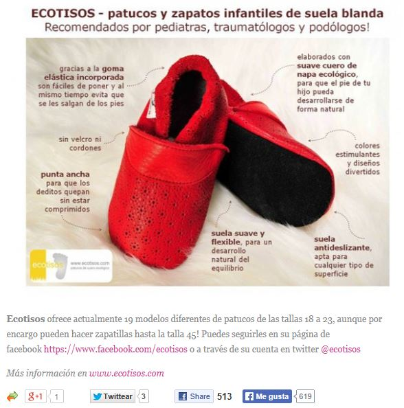 a10e808d35b ecotisos - entre chiquitines - patucos y zapatos infantiles ecologicos de  suela blanda - regalo bebe