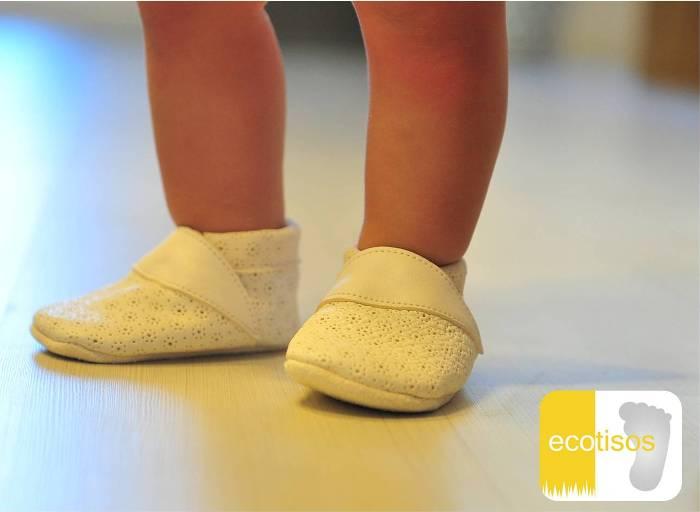 b2143c7fde5 ecotisos - patucos de suela blanda - zapatos primeros pasos - zapato de  gateo - calzado